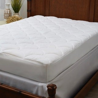 Panama Jack Stay Cool Performance Mattress Pad - White