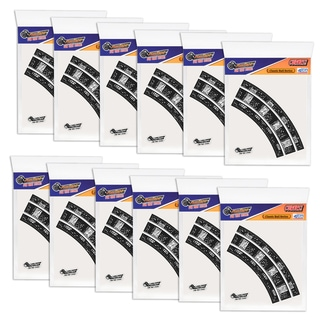 PlayTape Off-Road Series Bundle 2 in. Train Track Curves Full Case with 48 Curves
