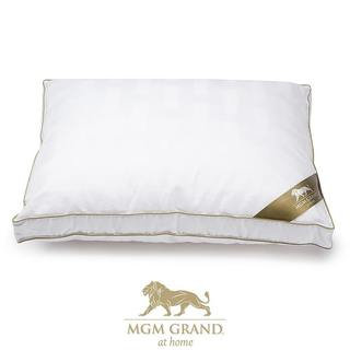 MGM Grand at Home Luxury Hotel Cotton Pillow - White