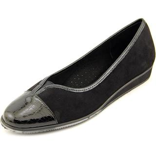 Vaneli Women's 'Abaka' Regular Black Suede Dress Shoes