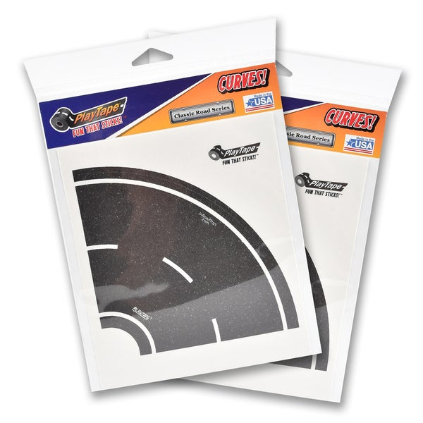 PlayTape Classic Road Series Curves Bundle 8 Tight 4 in. Curves