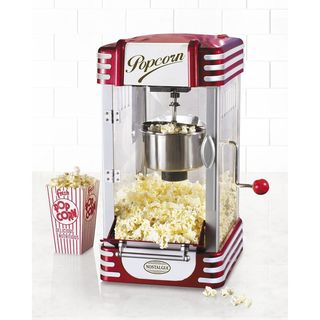 Nostalgia Retro Series Red 2.5-ounce Kettle Capacity Popcorn Maker