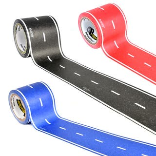PlayTape Classic Road Series 3 pack bundle includes 30 ft. x 2 in. Black, Blue and Red Road|https://ak1.ostkcdn.com/images/products/12611714/P19406122.jpg?impolicy=medium