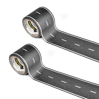 PlayTape Classic Road Series Bundle 30 ft. x 2 in. Black Road, 2 pack|https://ak1.ostkcdn.com/images/products/12611793/P19406140.jpg?impolicy=medium