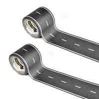 "PlayTape Classic Road Series Bundle 30 ft. x 2 in. Black Road, 2 pack - 30' x 2"""