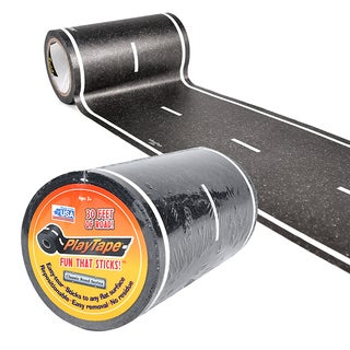 PlayTape Road, Black, 30 ft. x 4 in.