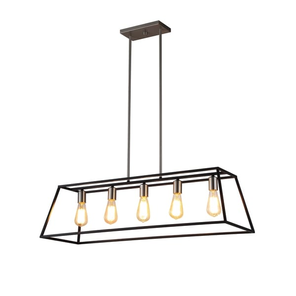 OVE Decors Agnes II Iron LED Integrated Pendant. Opens flyout.