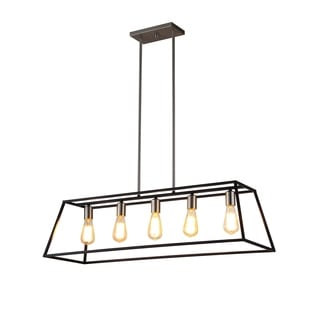 OVE Decors Agnes II Iron LED Integrated Pendant