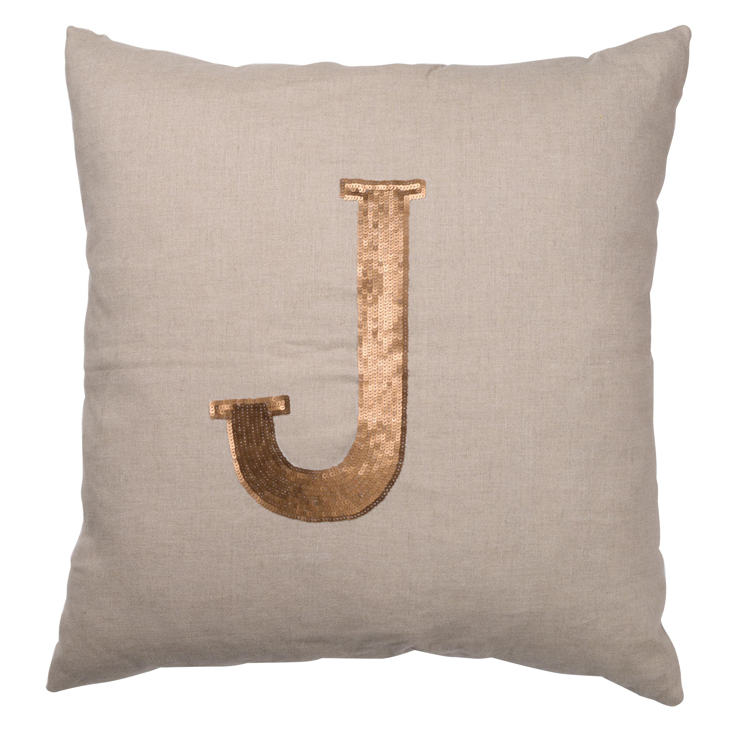 Dashiell Joy Tan Linen Throw Pillows (Pack of 3) (S/3 DASHIELL JOY PILLOWS)