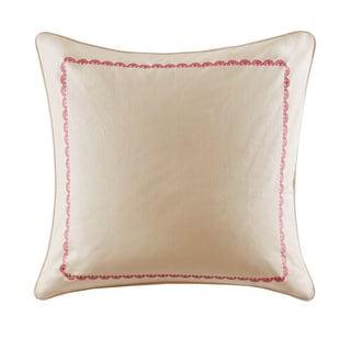 Echo Design Florentina Cotton Faux Linen Euro Sham