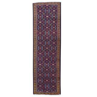 Persian Mahal Herat-design Multicolor Wool Oriental Runner Rug (2'4 x 7'6)