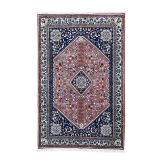 Persian Abadeh Hand-knotted Full Pile Oriental Carpet (5'x7'7)