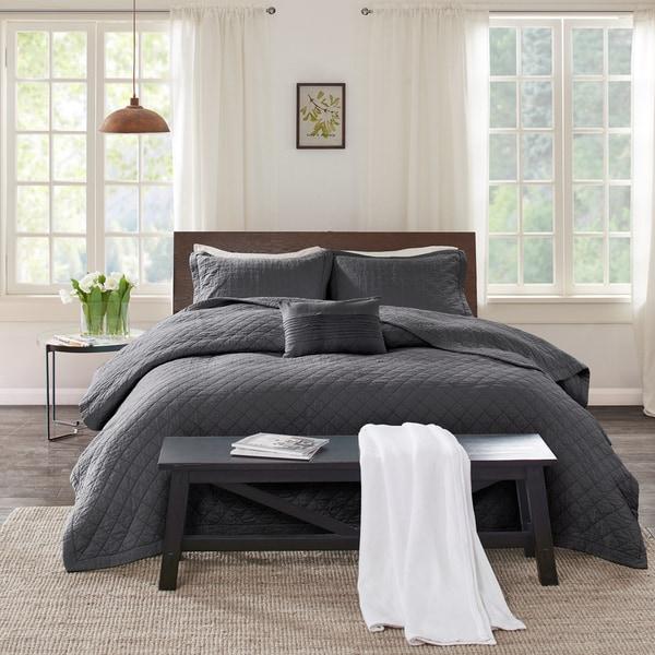 Echo Design™ Montauk Grey Cotton Quilt Mini Set