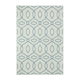 Genevieve Gorder Elsinore-moor Rectangle Machine-woven Blueberry Rug (3'11 x 5'6) - 3'11 x 5'6