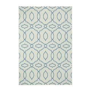 Genevieve Gorder Elsinore Moor Blueberry Olefin Rectangle Machine-woven Rugs (5'3 x 7'6)