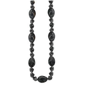 Long Facet Marbled Bead Endless Necklace|https://ak1.ostkcdn.com/images/products/12612545/P19407060.jpg?impolicy=medium