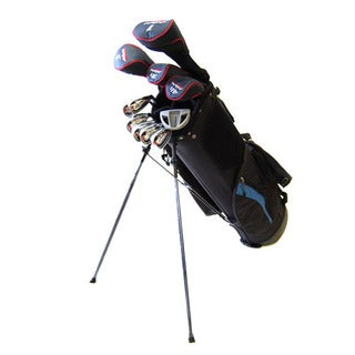 New Tommy Armour Men's AXIAL 16-Piece Complete Right-handed Golf Set and Stand Bag