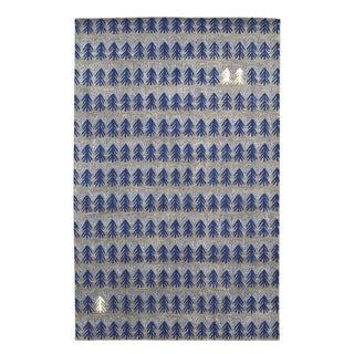 Genevieve Gorder Twigs Royal Rectangular Hand-tufted Rug (8' x 10') - 8' x 10'