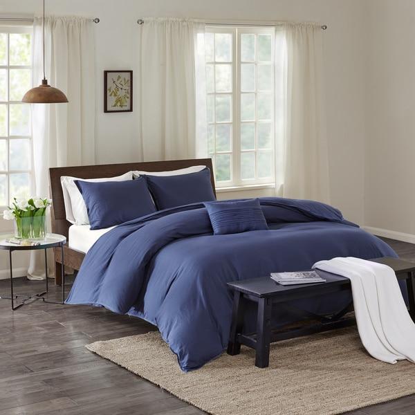 Echo Design™ Montauk Indigo Cotton Duvet Cover Mini Set
