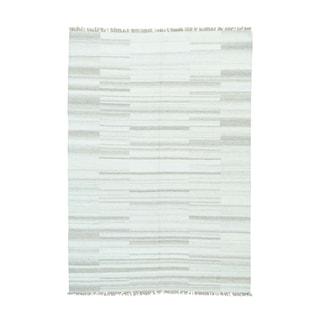1800getarug Kilim Oriental Wool Handwoven Flatweave Rug (5'8 x 8')