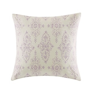 Echo Design Florentina Multi Cotton Faux Linen Square Throw Pillow