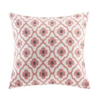 Echo Design™ Sterling Beige Cotton Square Throw Pillow