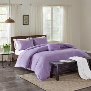 Echo Design™ Montauk Lavender Cotton Duvet Cover Mini Set