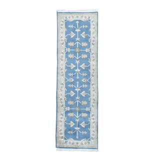 Chinese Thick and Plush Hand-knotted Runner Rug (2'6 x 8'2)
