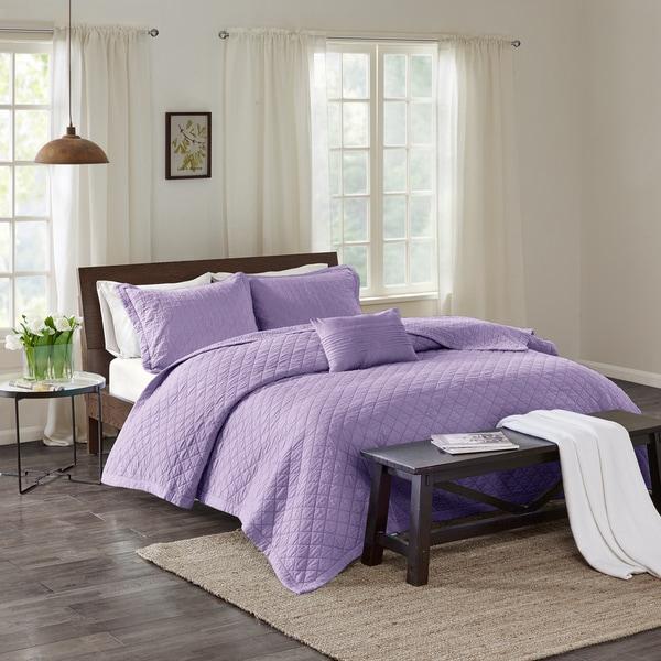Echo Design™ Montauk Lavender Cotton Quilt Mini Set