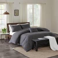 Echo Design™ Montauk Grey Cotton Duvet Cover Mini Set