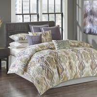 N Natori Tboli Multi Cotton Sateen Printed Duvet Mini Set