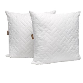 Panama Jack Quilted Euro Square Bed Pillow (Set of 2)