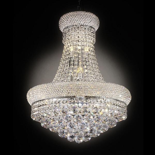 "26"" ADAGIO EMPIRE CRYSTAL LED CEILING LAMP"