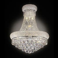 "26"" ADAGIO EMPIRE CRYSTAL LED CEILING LAMP"