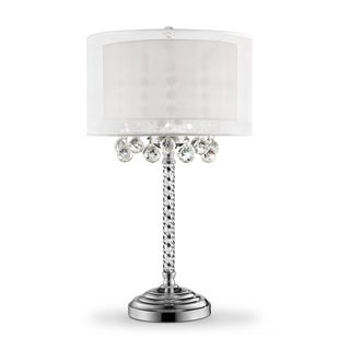 "30"" MOISELLE CRYSTAL TABLE LAMP"