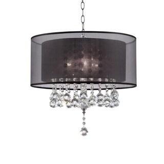 """19"""" EFFLEURER CRYSTAL CEILING LAMP"""