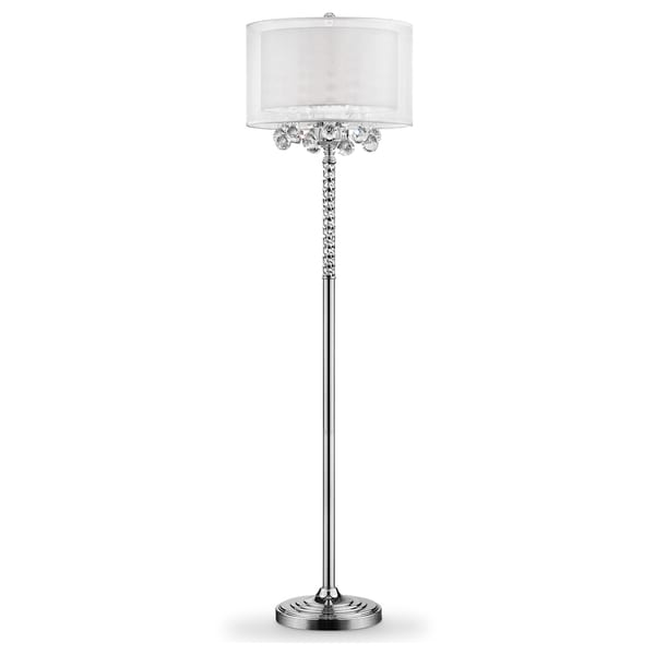 62 5 Moie Crystal Floor Lamp On Free Shipping Today 12613471