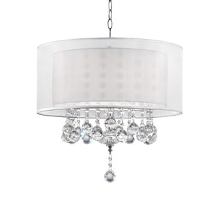 "19"" MOISELLE CRYSTAL CEILING LAMP"