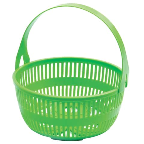 Norpro 648 Green Canning Basket With Removable Handle