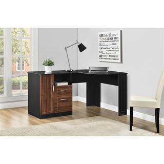 Ameriwood Home Avalon Cherry/ Black Corner Desk