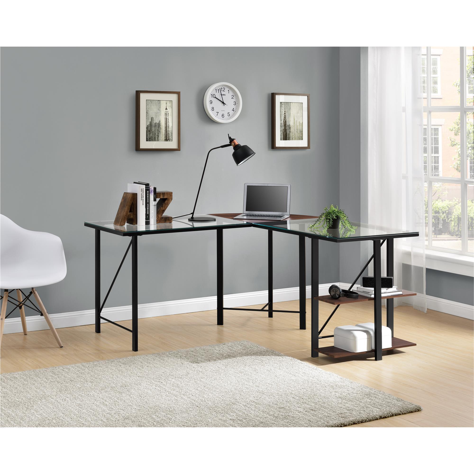 in target facts l ameriwood computer shaped desk about black espresso