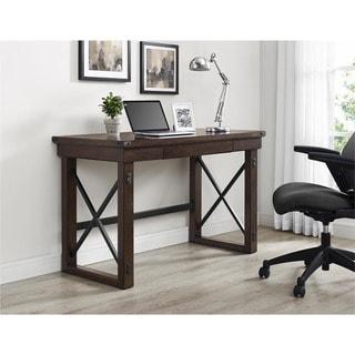 Ameriwood Home Wildwood Mahogany Veneer Desk