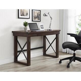 Altra Wildwood Mahogany Veneer Desk