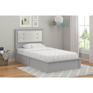 Altra Willow Lake Light Slate Grey Twin Platform Bed by Cosco|https://ak1.ostkcdn.com/images/products/12614150/P19408232.jpg?impolicy=medium