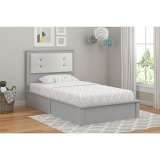 Altra Willow Lake Light Slate Grey Twin Platform Bed by Cosco