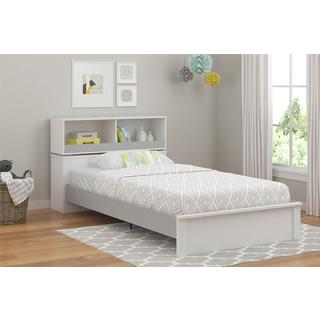 Altra Leni White/ Light Slate Grey Twin Bed by Cosco