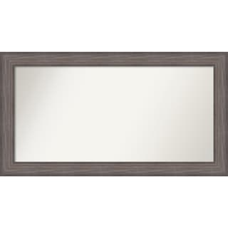 Wall Mirror Choose Your Custom Size - Extra Large, Country Barnwood Wood