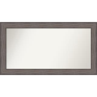 Wall Mirror Choose Your Custom Size-Extra Large, Country Barnwood Wood