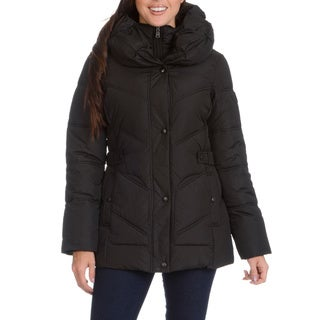 Larry Levine Pillow Collar Down Jacket