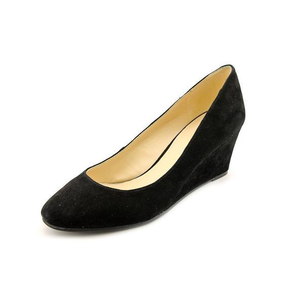 7d27ac9926 Shop Nine West Women's 'Ispy' Black Suede Dress Shoes - Free ...